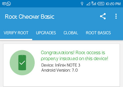 Root-infinix-note-3-android-7