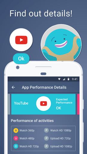 Meteor Internet Speed Test App