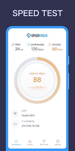 Speed Test App