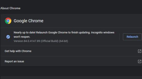 Chrome Auto Updates