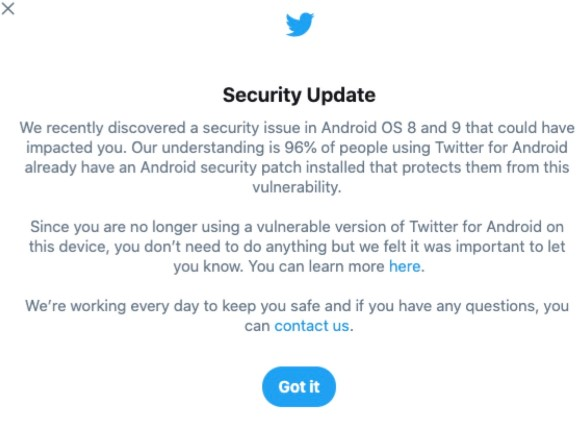 Twitter Security Bug