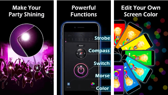 Flashlight Apps Android iPhone