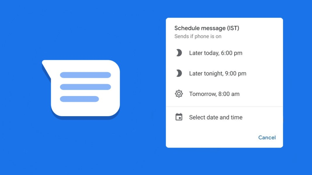 Schedule Text Google Messages