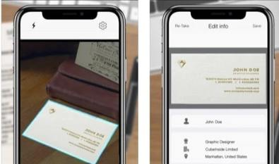 Apps to Scan Business Cards