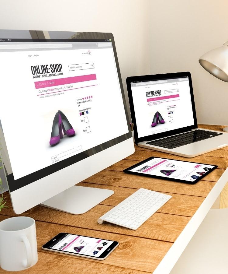 website design responsive image