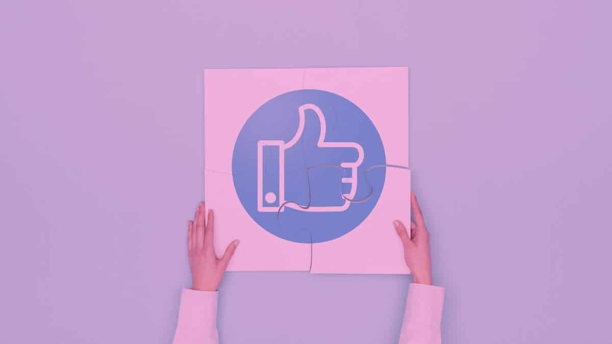 Why is the Facebook Like Button Pink?