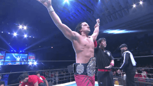 "<span id=""titleiswpReadMe_1465""></noscript>Jay White captures the IWGP Championship</span>"