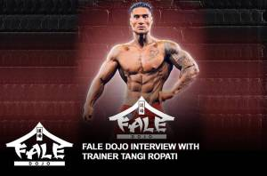 Fale Dojo interview with Head Trainer, Tangi Ropati