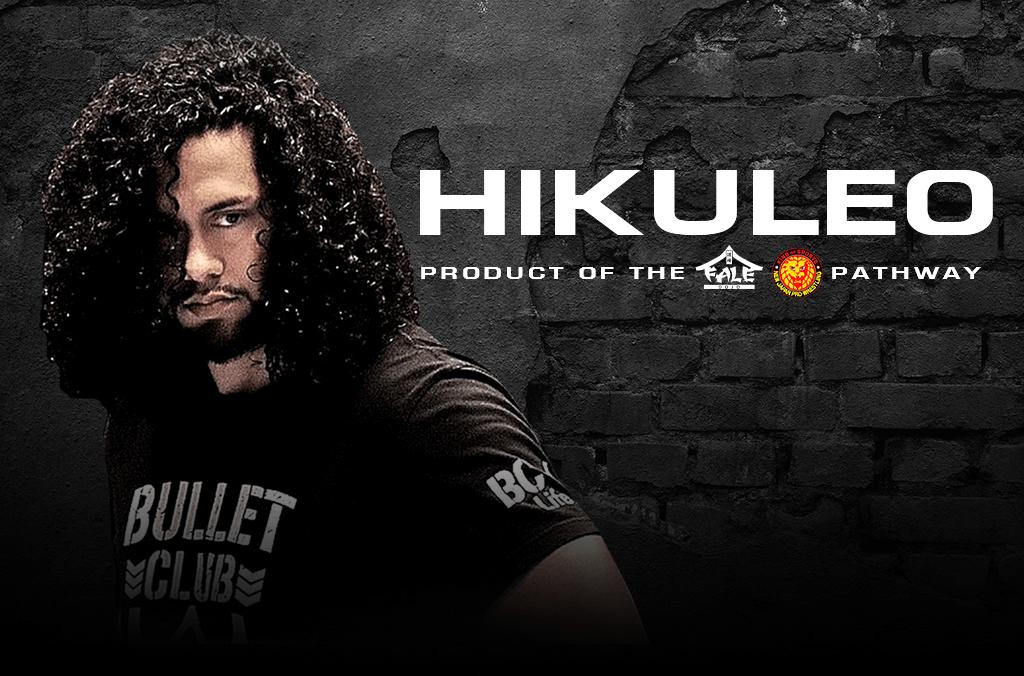 Hikuleo – Product of the Fale Dojo and NJPW Dojo Pathway