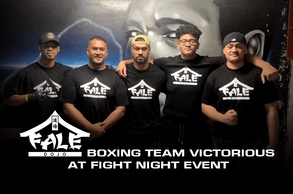 Fale Dojo Boxing Team Victorious At Fight Night Event