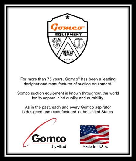 Gomco® 6053 Thoracic Drainage Aspirator