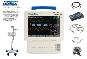 Welch Allyn Propaq CS 242 Patient Monitor
