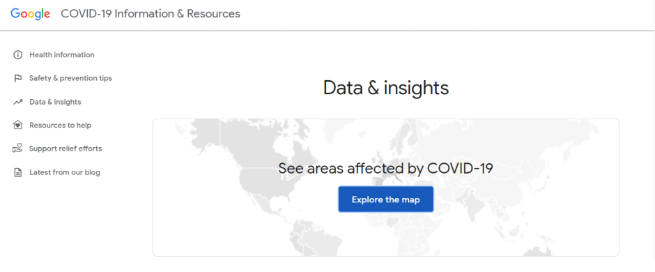 Google-COVID19-data-e-insights