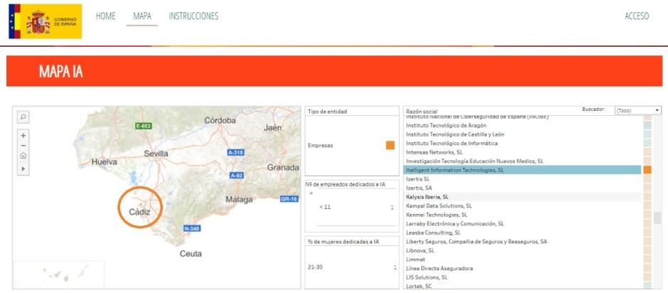 mapa-ia-gobierno de españa-itelligent-cadiz