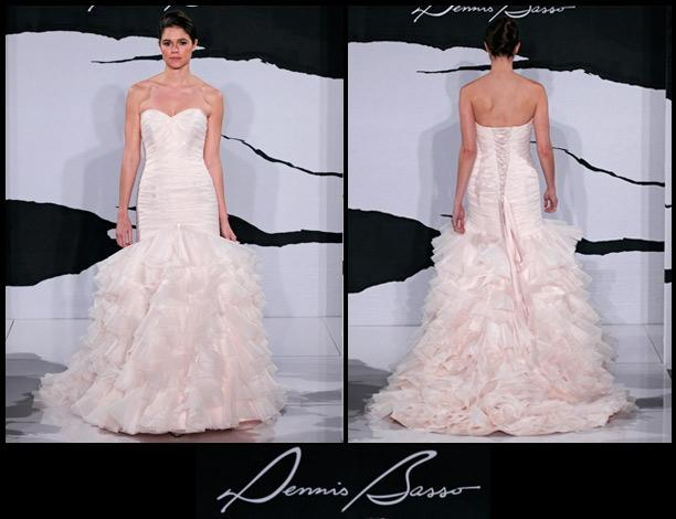 Dennis Basso Mermaid Wedding Dress