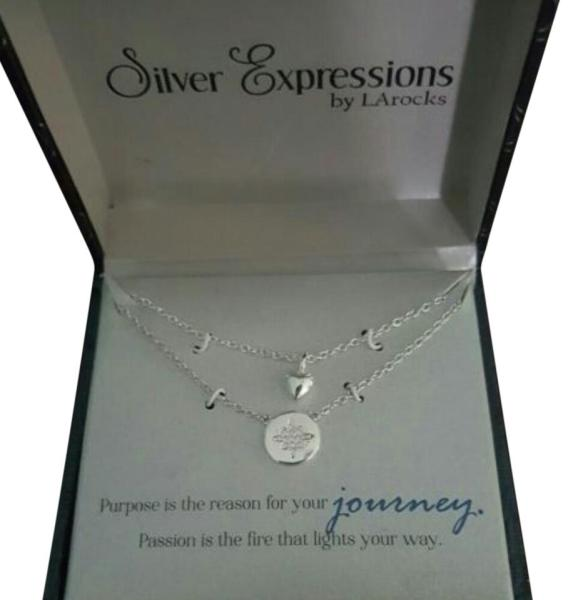 Silver Expressions Necklace   Tradesy LArocks Silver Expressions