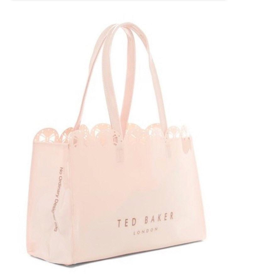 d472802f6 Ted Baker London Alexcon Bow Icon Tote Handbag W  Bow In Nude