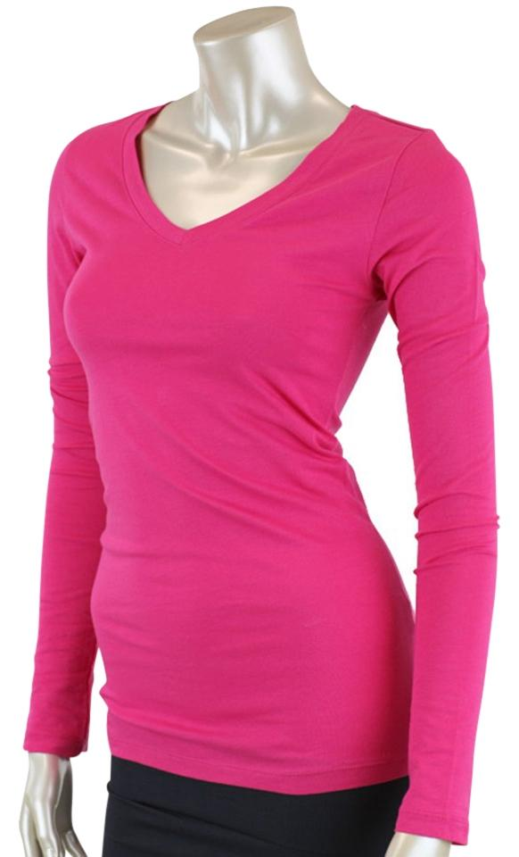 Active Basic Tee Shirt Hot Pink 46% Off | Tops | Tradesy