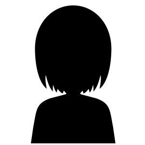 シルエット女性1