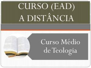 Curso Médio de Teologia