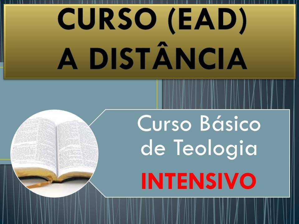 Curso Básico de Teologia - Intensivo a distância