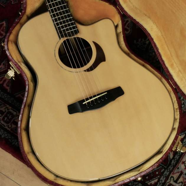 Yokoyama Guitars / AR-SC #973 / Sitka Spruce & Camatillo 3P