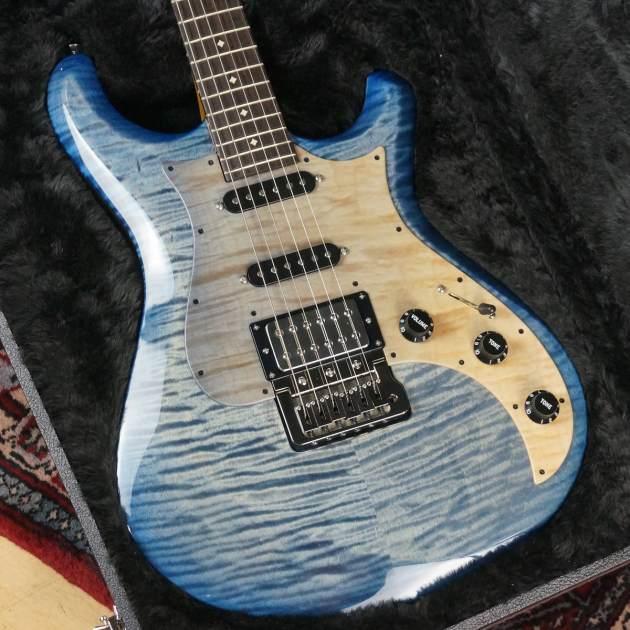 Knaggs Guitars / Chesapeake Series / Severn Trem HSS #1218 / Winter Snow