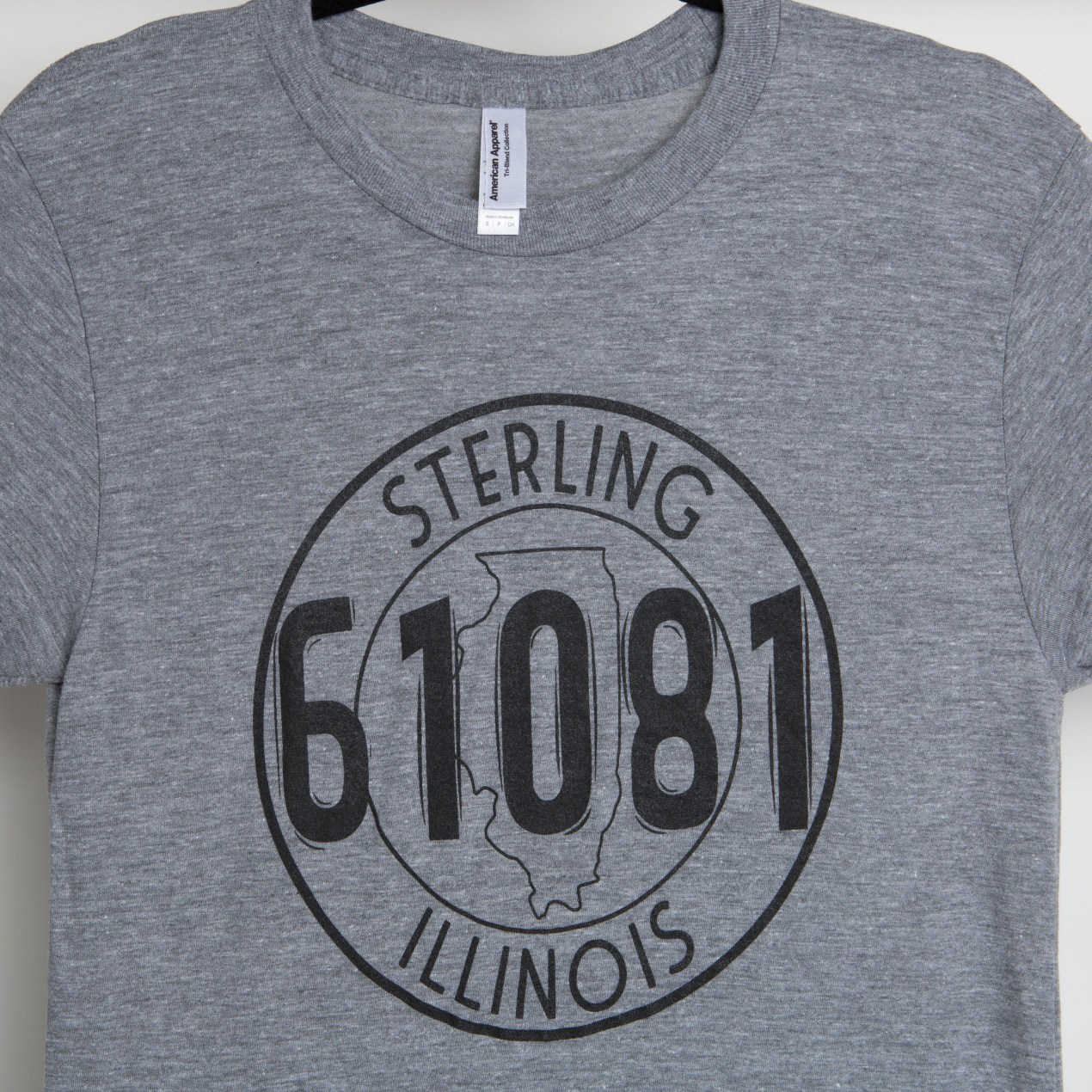 Sterling Seal T-shirt - Heather Grey