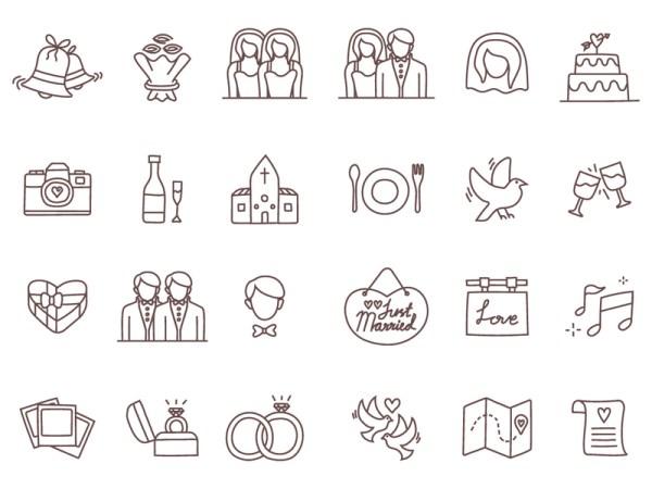 free wedding icons # 72