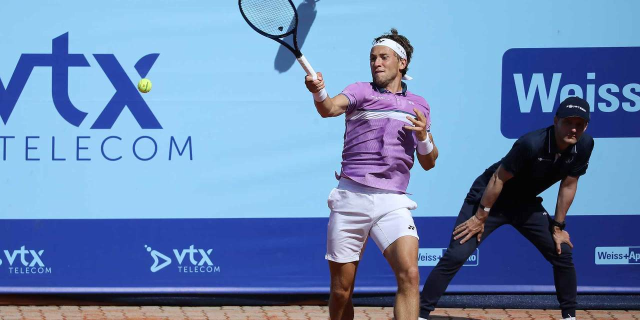 Ruud Rolls On In Gstaad, Continues Turin Push