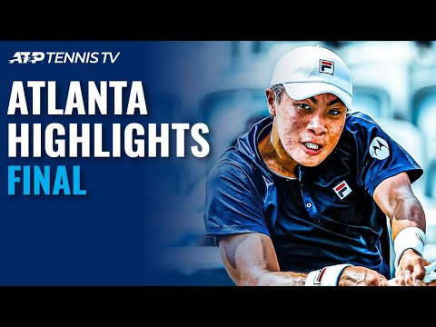 John Isner vs Brandon Nakashima | 2021 Atlanta Open Final Highlights