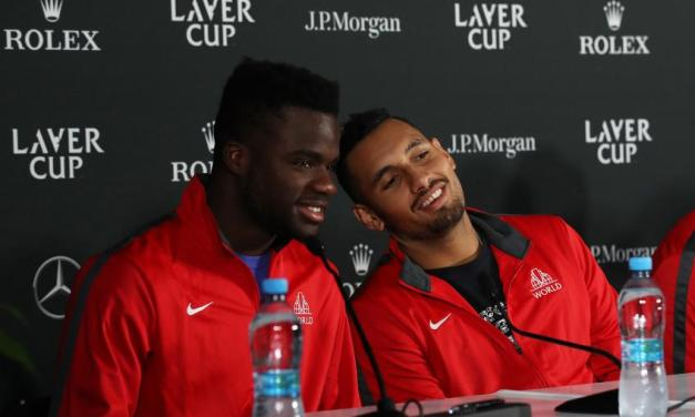 Nick Kyrgios speaks on teaming up with Frances Tiafoe for Washington doubles