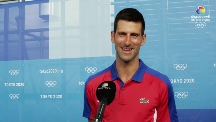 'That's certainly a question for Novak Djokovic more than…', says WTA star