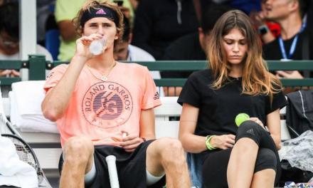 Olya Sharypova to Alexander Zverev: I'm not afraid of you or your legal team