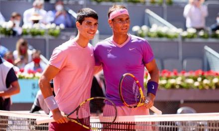Leylah Annie Fernandez on Carlos Alcaraz: I was watching right-handed Rafael Nadal