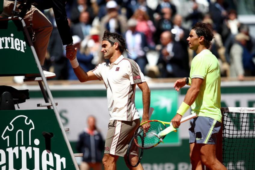Rafael Nadal: 'It was great to share the court with Roger Federer again'