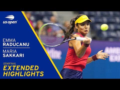 Emma Raducanu vs Maria Sakkari Extended Highlights | 2021 US Open Semifinal