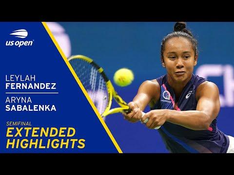 Leylah Fernandez vs Aryna Sabalenka Extended highlights | 2021 US Open Semifinal