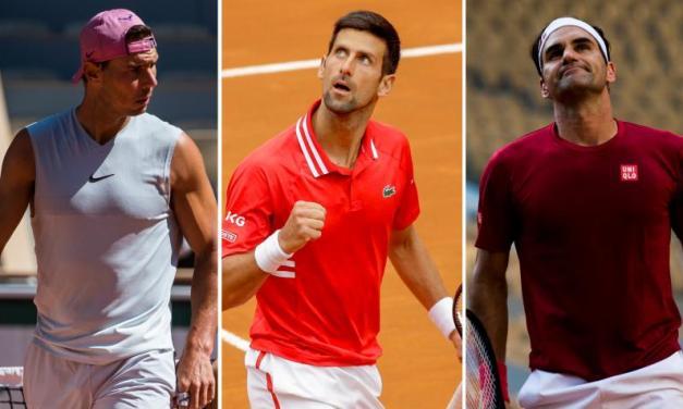 'Roger Federer, Rafael Nadal and Djokovic are still…', says ATP star