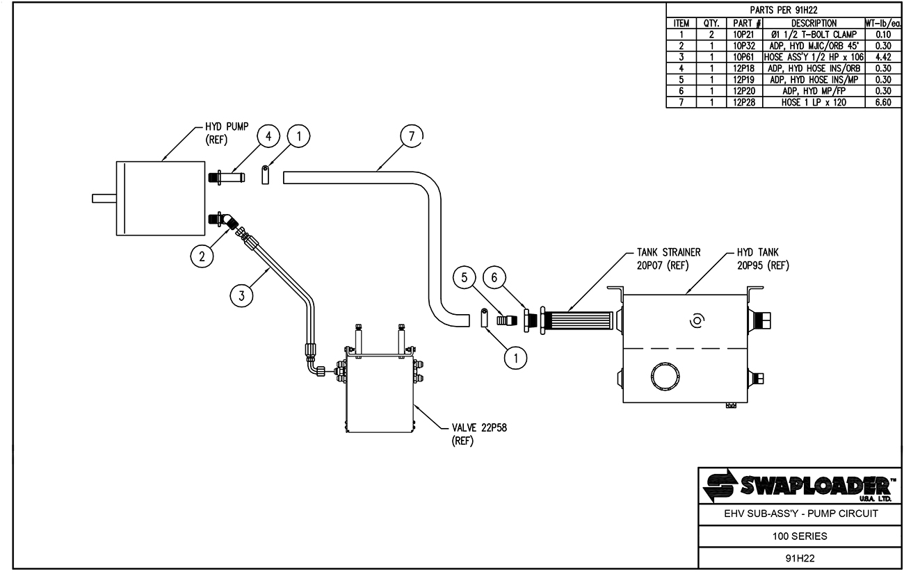 Waltco Liftgate Switch Remote Hydraulic Pump Wiring Diagram