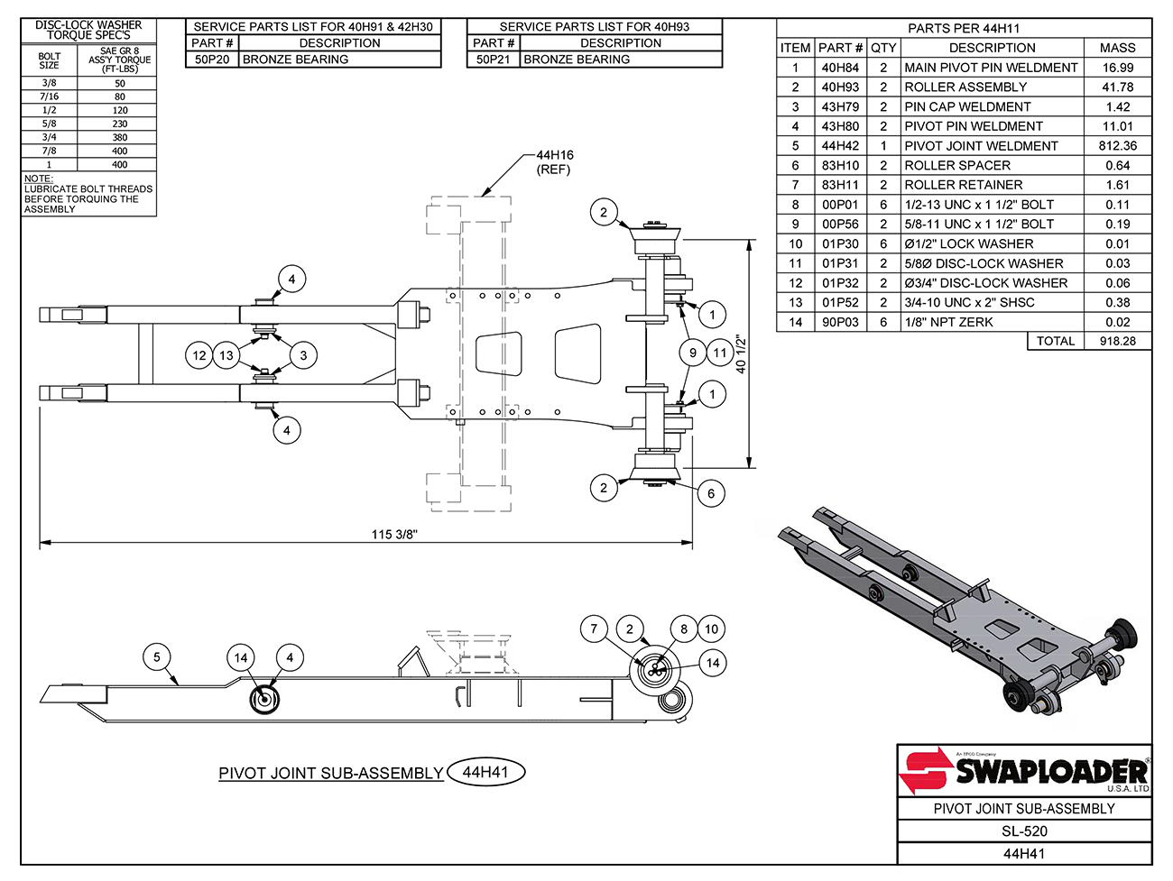 Swaploader Heavy Duty Series