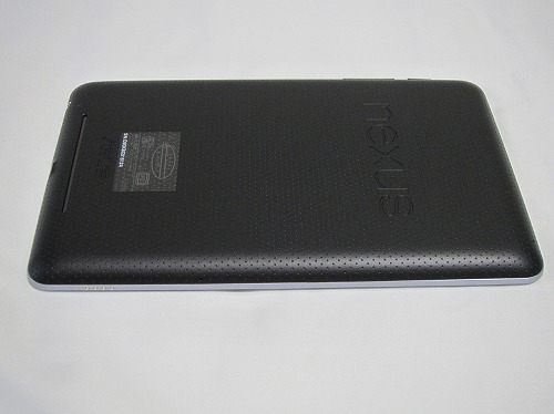 Google Nexus 7 本体左側
