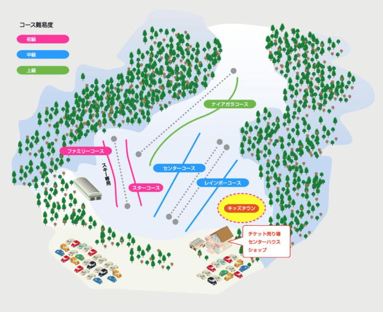 ゲレンデマップ