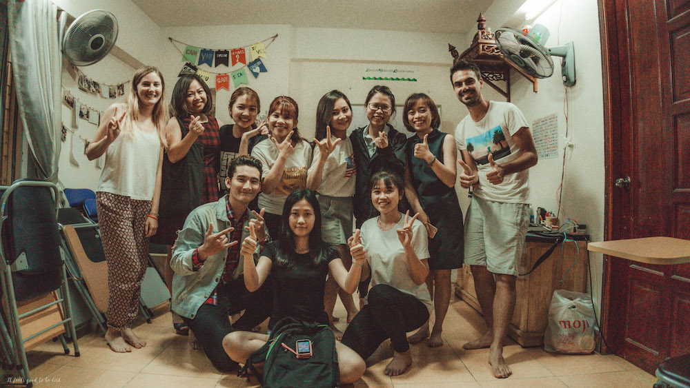 Our amazing Vietnamese class