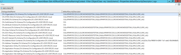 AdminSDHolder - Default Security Descriptor