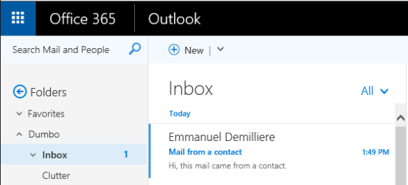 Harden Office 365 Antispam per Mailbox - Known Sender
