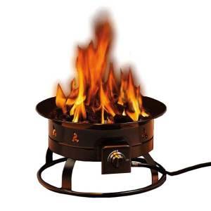 portable propane fire pit costco