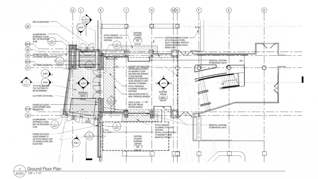 Statler Ground Floor Entry