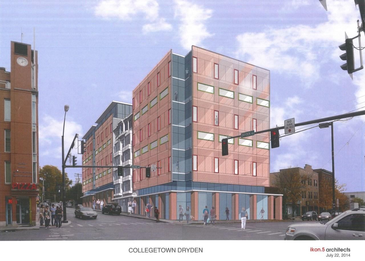 Collegetown Dryden Project - Sketch Plan Presentation - 07-22-14_Page_1