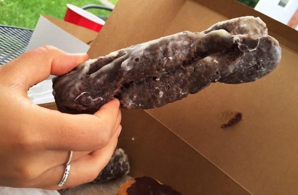 Verna's Chocolate Cake Donut